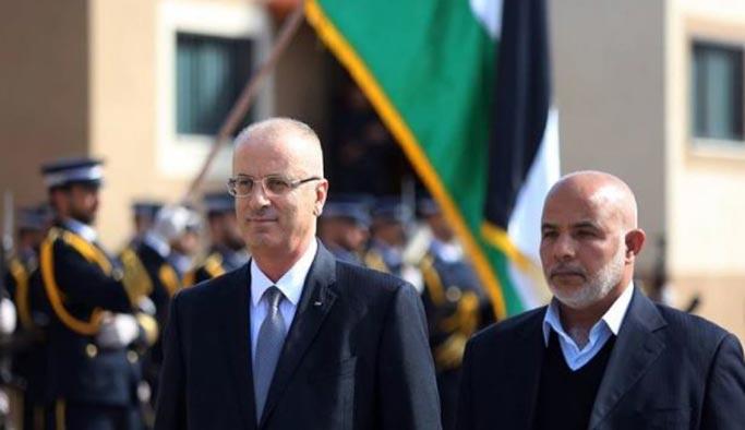 Filistin Başbakanı Hamdallah, İsrailli yetkililerle görüştü
