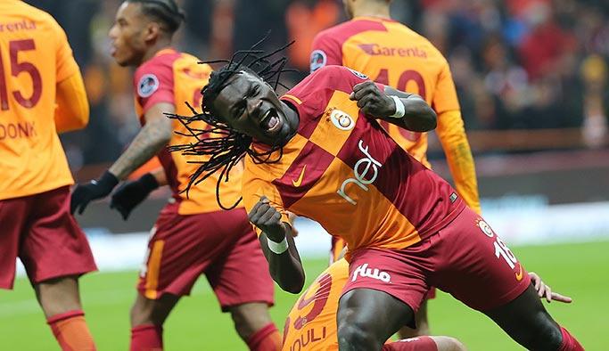 Galatasaray 21'inci haftayı liderlikle kapattı