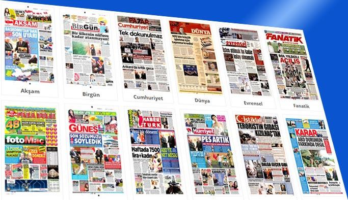 Gazetelerin bugünkü manşetleri 16 Şubat 2018