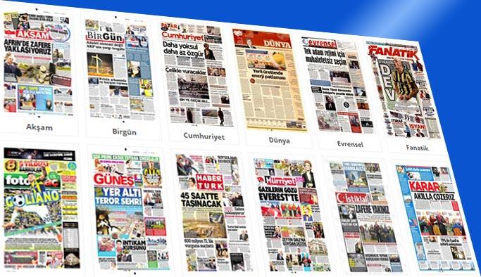 Gazetelerin bugünkü manşetleri 18 Şubat 2018