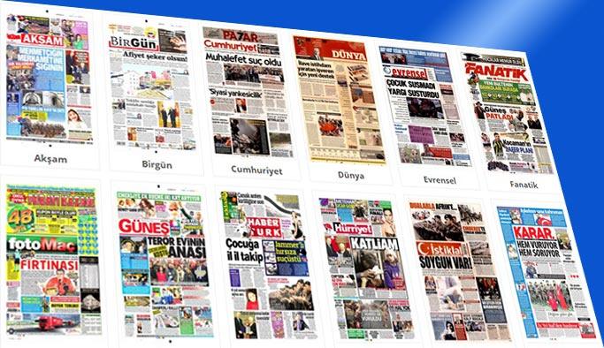Gazetelerin bugünkü manşetleri 23 Şubat 2018