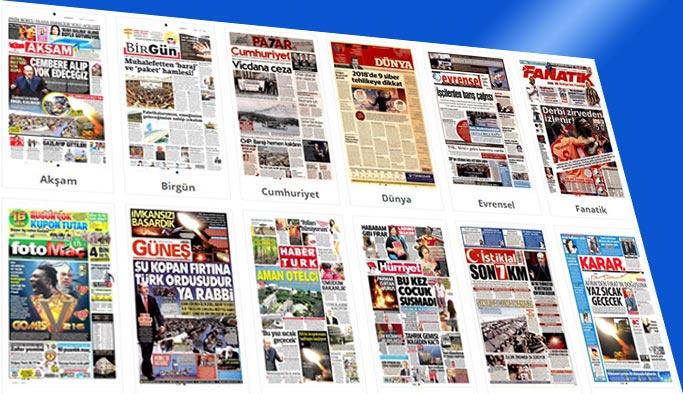 Gazetelerin bugünkü manşetleri 24 Şubat 2018
