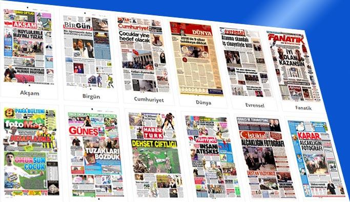 Gazetelerin bugünkü manşetleri 25 Şubat 2018