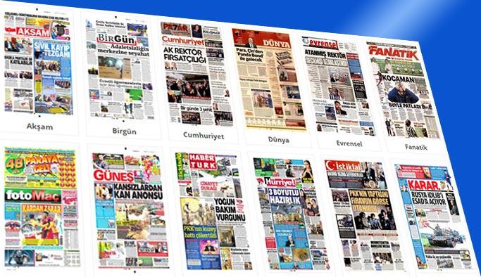 Gazetelerin bugünkü manşetleri 2 Şubat 2018