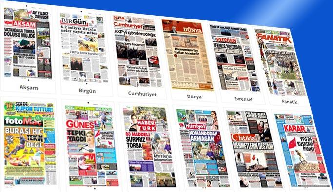 Gazetelerin bugünkü manşetleri 3 Ocak 2018