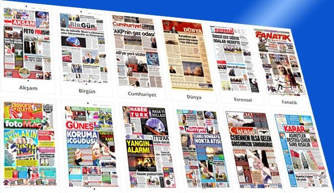 Gazetelerin bugünkü manşetleri 8 Şubat 2018