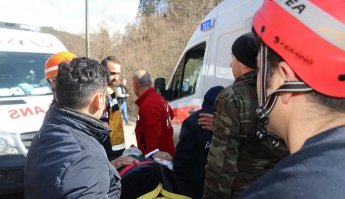 GÜNCELLEME - Bolu'da zincirleme trafik kazası: 11 yaralı