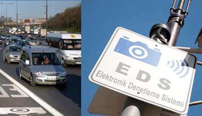 İstanbul'daki sürücülere yeni EDS uyarısı