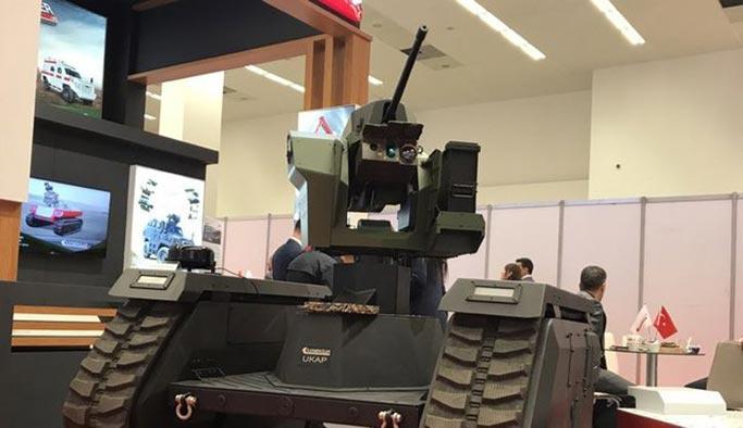 İşte insansız 'yerli tankımız'
