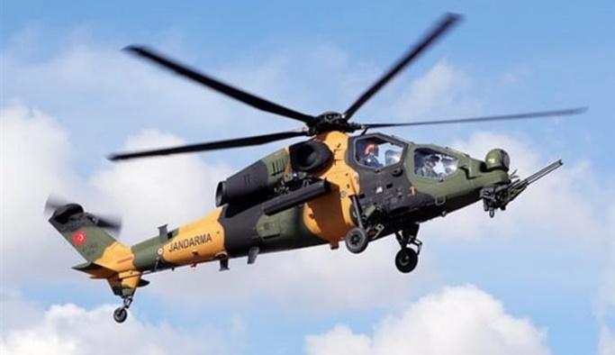 Jandarmaya ilk ATAK helikopteri teslim edildi