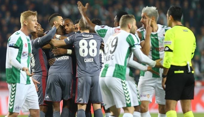Konyaspor-Beşiktaş: 1-1 (Maç Sonucu)