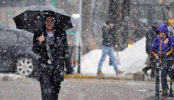 Meteoroloji'den 4 ile yoğun kar yağışı uyarısı
