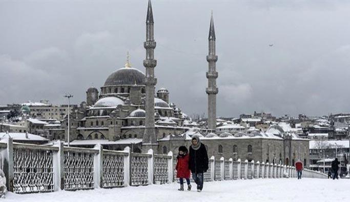 Meteoroloji İstanbul'a kar için tarih verdi