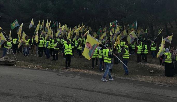 PKK yandaşları Fransa'da Türklere saldırdı