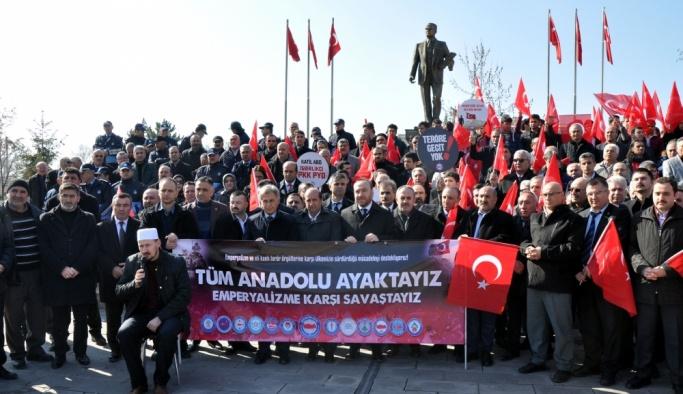 Sendikalardan Zeytin Dalı Harekatı'na destek