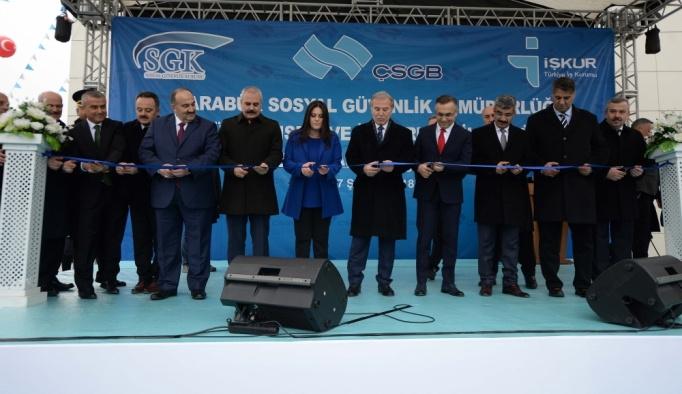 SGK ve İŞKUR Karabük il müdürlükleri açılışı