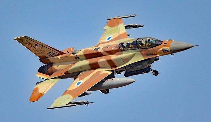 Suriye İsrail uçağını füzelerle düşürdü