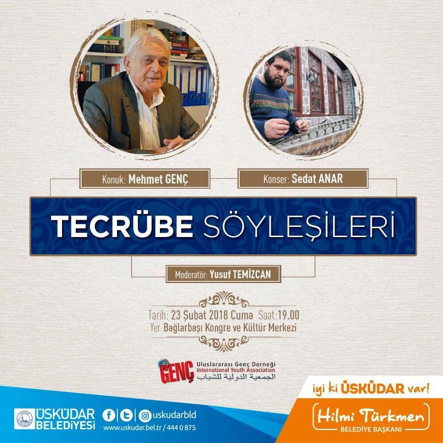 Tecrübe Söyleşileri'nin ilk misafiri Mehmet Genç