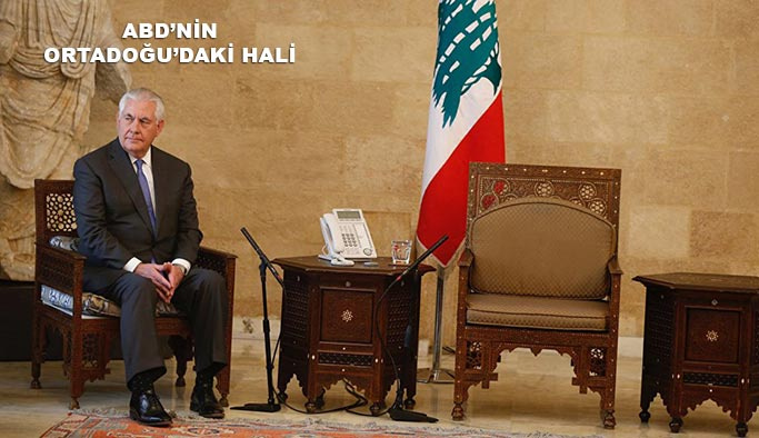 Tillerson'a Lübnan'da soğuk duş, boş salonda beklettiler