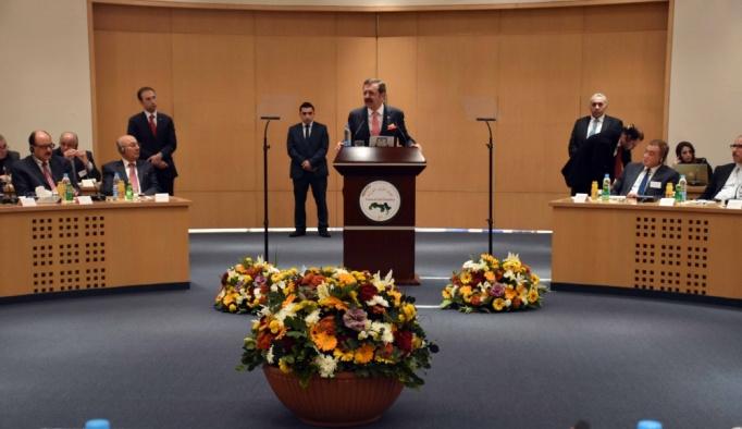 TOBB Başkanı Hisarcıklıoğlu Lübnan'da