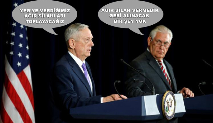 Türkiye hangisine inansın: Mattis 'var', Tillerson 'yok' dedi
