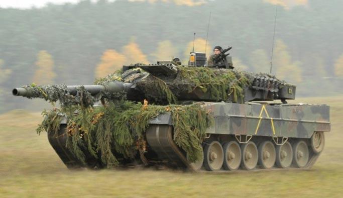 Türkiye ile Almanya arasındaki 'tank sorunu' giderildi