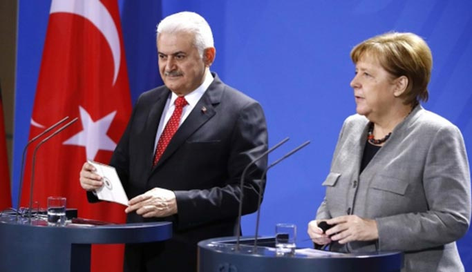 Yıldırım-Merkel görüşmesinden önemli açıklamalar