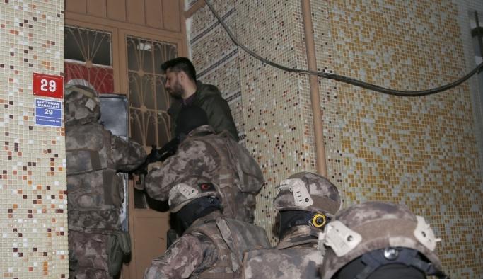 İstanbul'da özel harekat destekli uyuşturucu operasyonu
