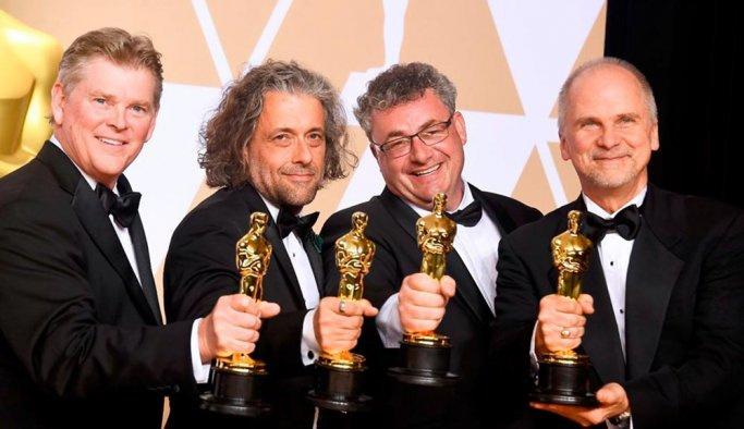 2018'in Oscar Ödüllerini kazananlar belli oldu