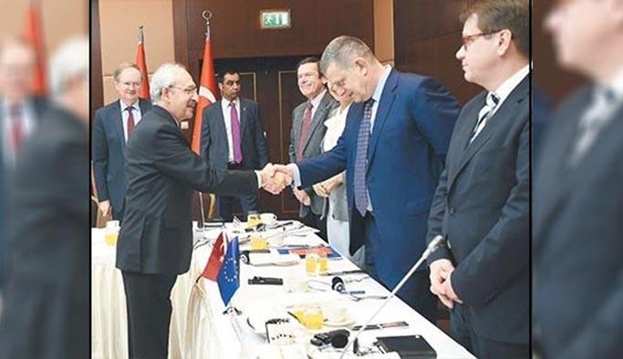 AB elçileri Kılıçdaroğlu'na Abdullah Gül'ü sordu
