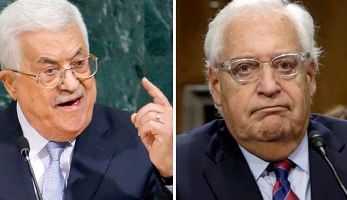 Abbas ABD elçisine 'it' dedi, İsrail rahatsız oldu