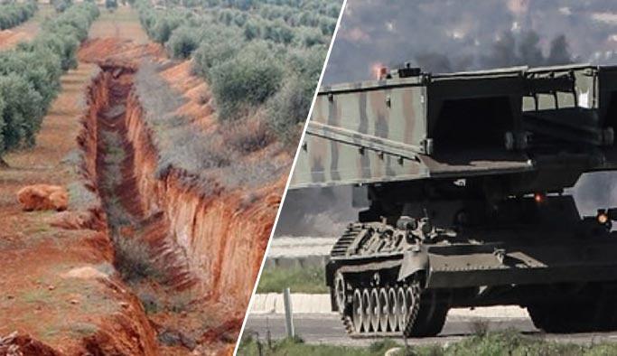 Afrin'deki hendeklere karşı çözüm bulundu