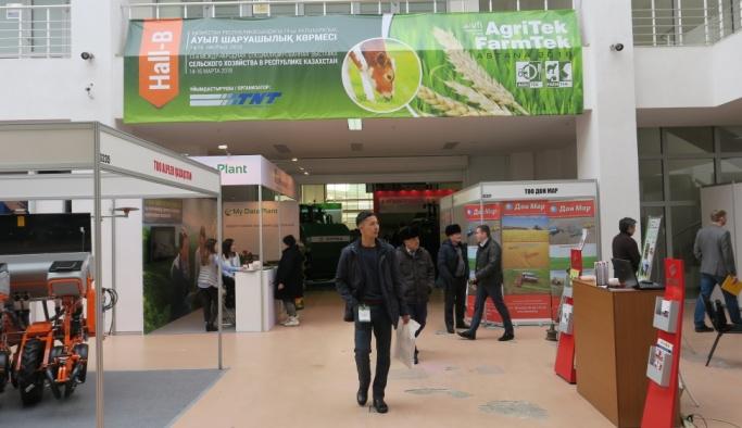 Agritek/Farmtek Astana Tarım ve Hayvancılık Fuarı açıldı