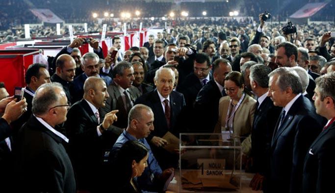 """AK Parti'den MHP kurultayına """"güçlü"""" destek"""