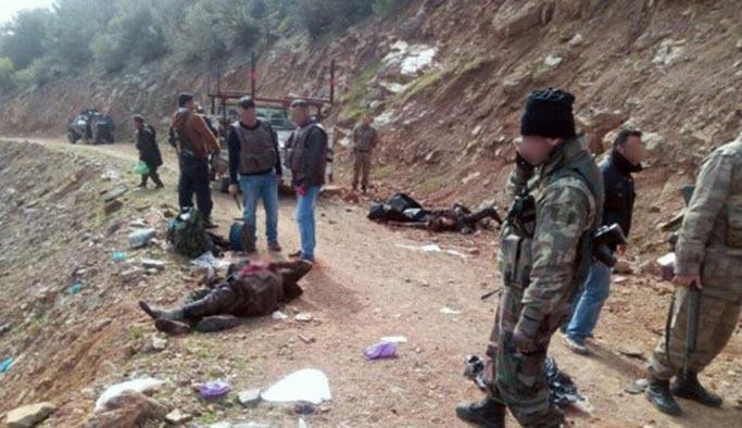 Amanoslar'da PKK'ya ağır darbe, 11 ölü var