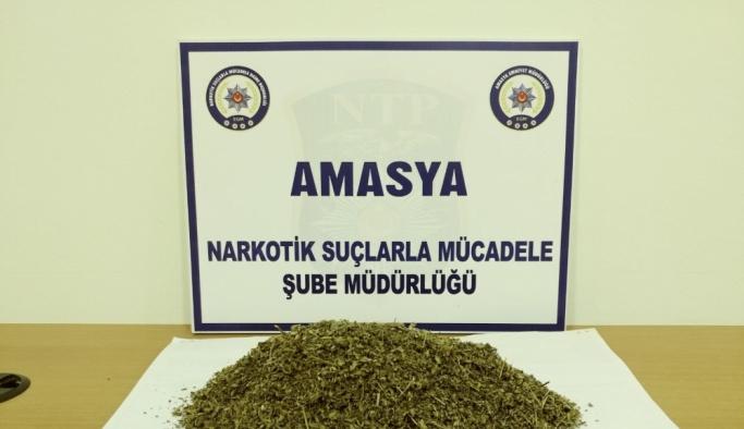Amasya'da uyuşturucu operasyonu