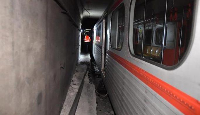Ankara metrosunda kaza, seferler durdu