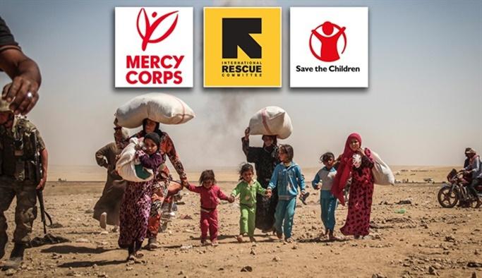 Batılı 'yardım kuruluşları' ortalıktan kayboldu