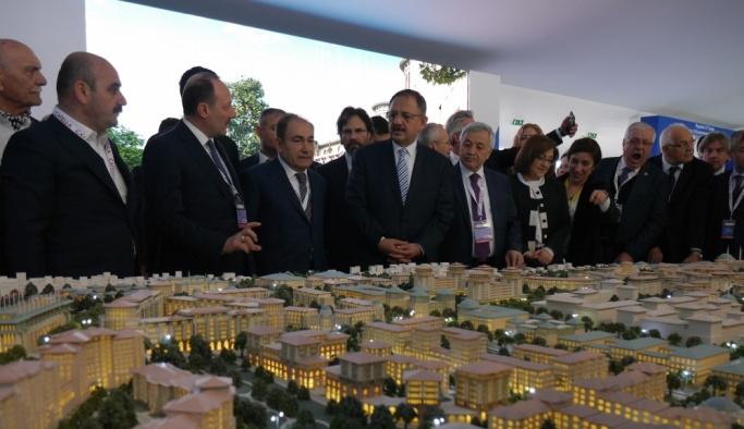 Çevre ve Şehircilik Bakanı Özhaseki Fransa'da