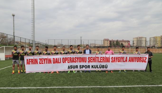 Diyarbakır'da Amatör Lig'de Mehmetçik'e