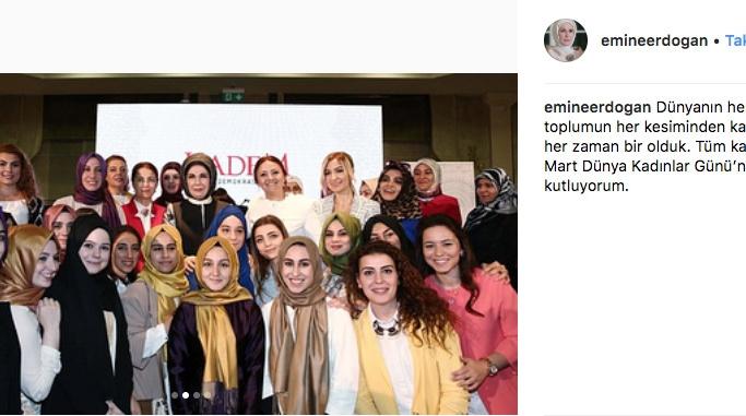 Emine Erdoğan'dan ilk Instagram paylaşımı