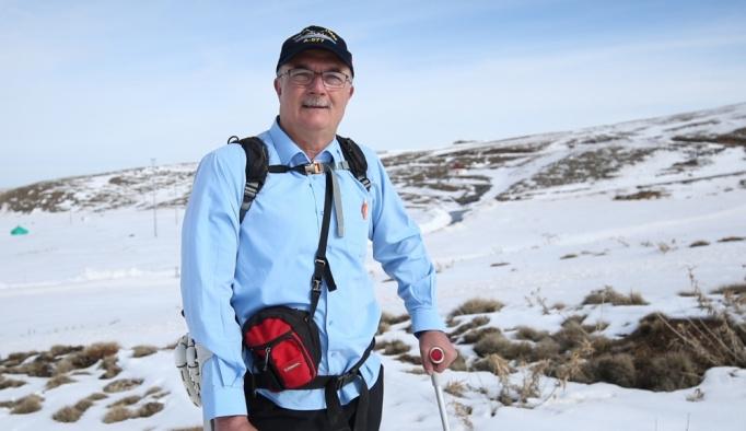 Engelli dağcının hedefi Everest