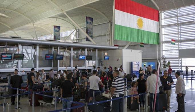 Erbil havalimanlarını teslim etti, yasak kalktı