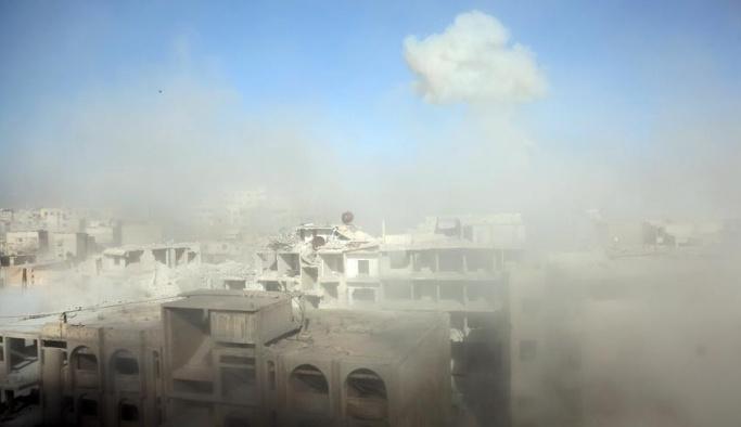 Doğu Guta'daki siviller kimyasal silahla hedef alındı