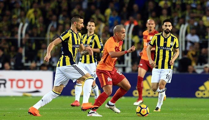 Galatasaray, Kadıköy'den puanla ayrıldı