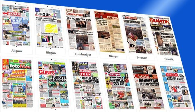 Gazetelerin bugünkü manşetleri 22 Mart 2018
