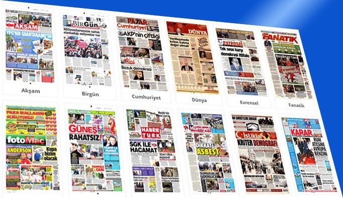 Gazetelerin bugünkü manşetleri 23 Mart 2018