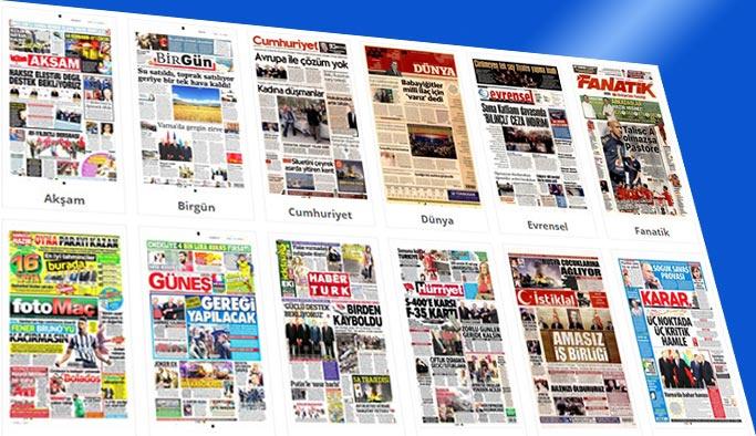 Gazetelerin bugünkü manşetleri 27 Mart 2018
