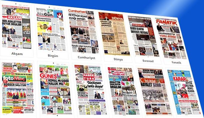 Gazetelerin bugünkü manşetleri 28 Mart 2018