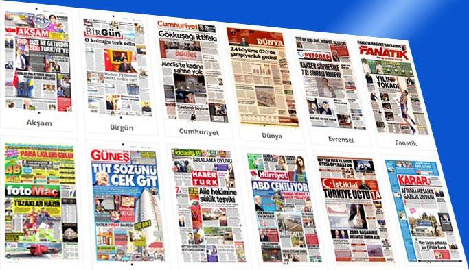 Gazetelerin bugünkü manşetleri 30 Mart 2018